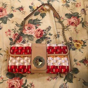 Kate spade rare vintage woven shoulder bag